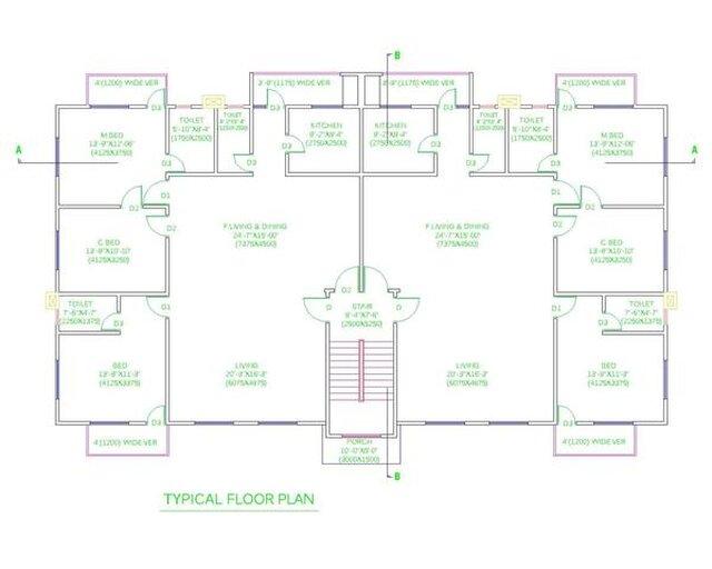 Typhical Floor Plan