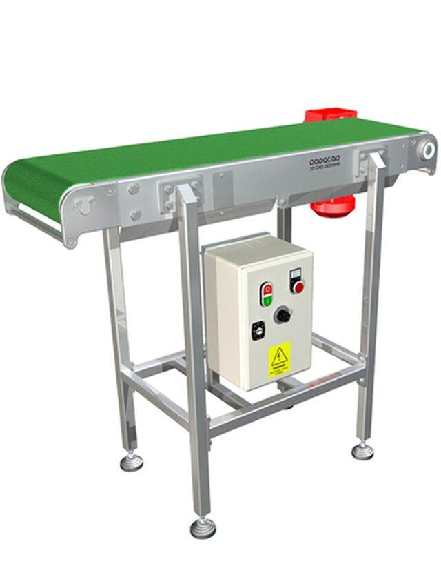 Conveyor Belt - 3D files available STP, STL, DWF