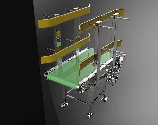 Dynamic automation,Conveyor design,Machine design