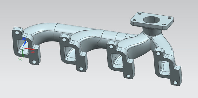 machinnig-exhaust-manifold