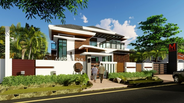 a proposed 2-storey residential