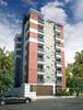 Building exterior 3d Render