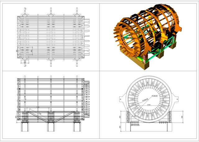 stator support