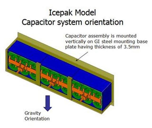 CFD Analysis- Electronics Capacitor Bank