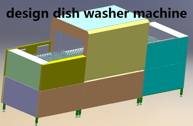 redesign dish washer machine