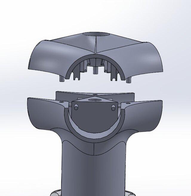 Lens Housing For 360 Degree Camera