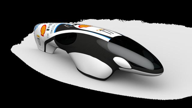 winning livery design for Shell Eco Marathon Europe 2017