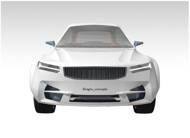 Volvo V90 Cross Country 3D surfacing and modelling