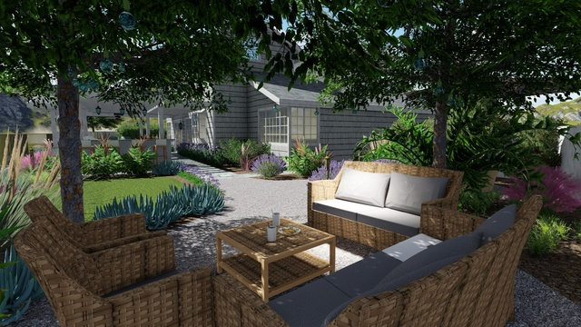 Hardscape Backyard Makeover in California - download free ...