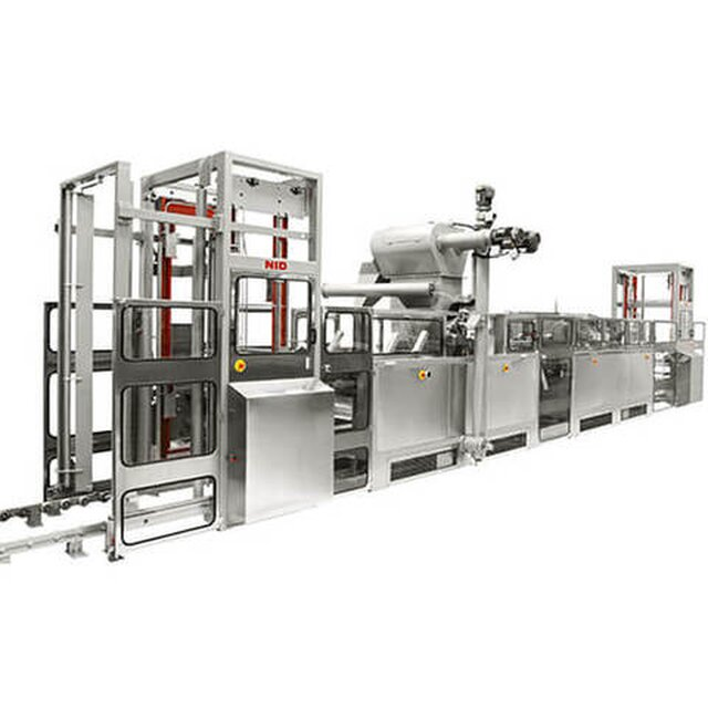 Starch Mogul - a production line for jelly/candy/lollies manufacturing