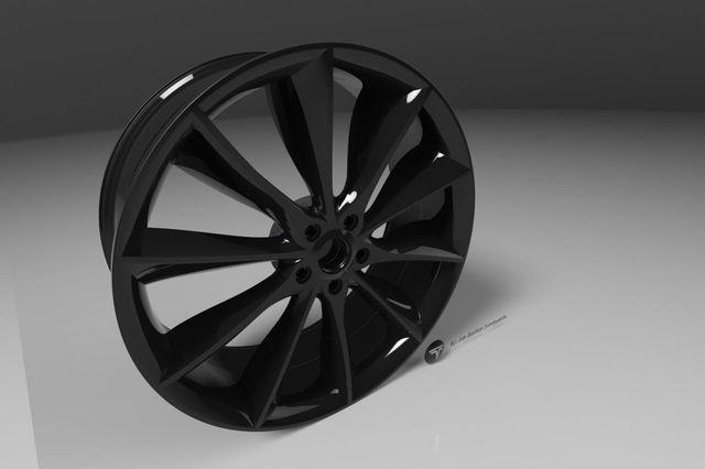 Turbine Wheel - Tesla S