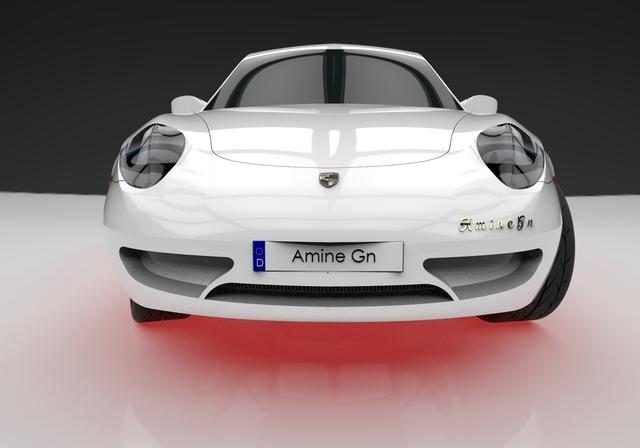 Porsche Carrera 911 3D Model