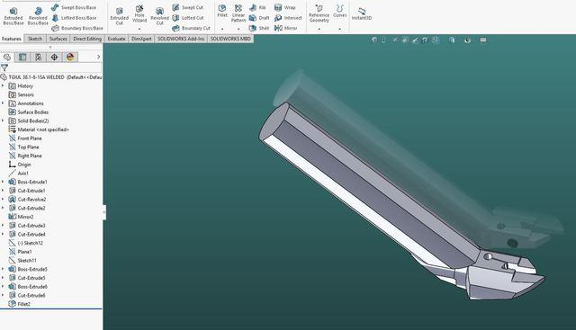 Custom tool
