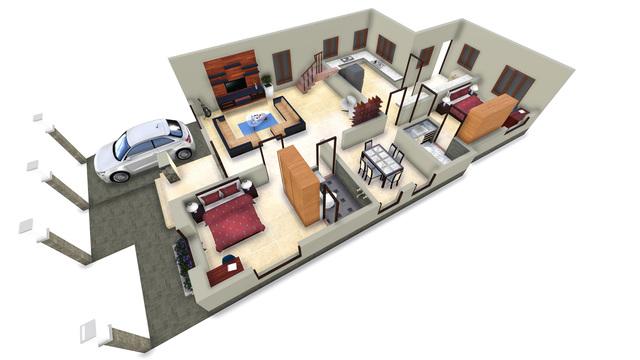 Home 3D Plan