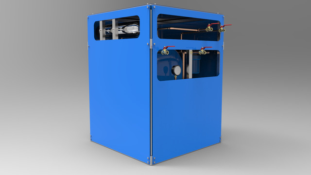 Compact Water Filtration and Purification Unit