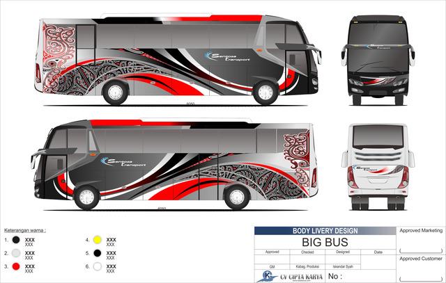 Livery design bus