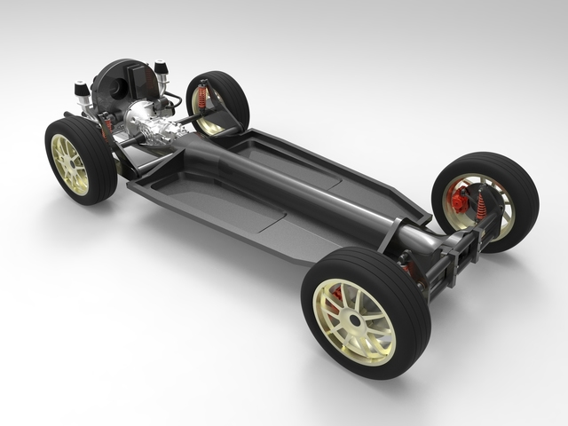[DIAGRAM_09CH]  VW Beetle Chassis - download free 3D model by Alek. Tomic - Cad Crowd | Vw Engine 3d Diagram |  | Cad Crowd