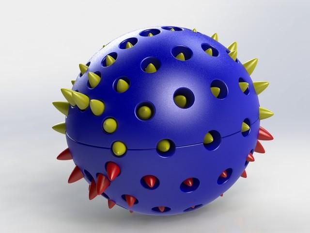 Spikes Ball