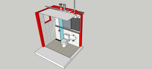 UBR (Unit Bath Room Prefabricated System) (2015 - 2017)