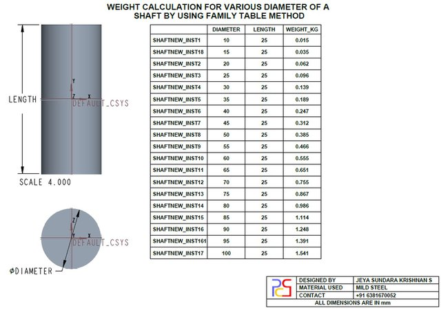 shaft-weight-calculation