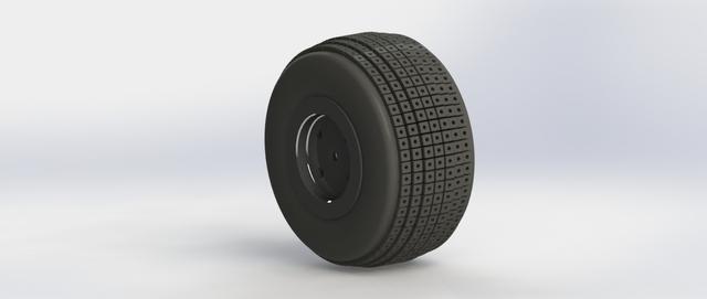 Batmobile Tyre