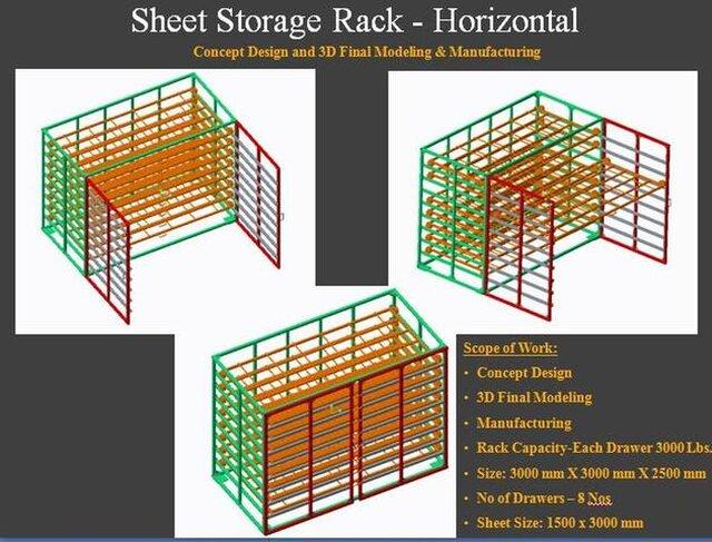 Material Storage Racks