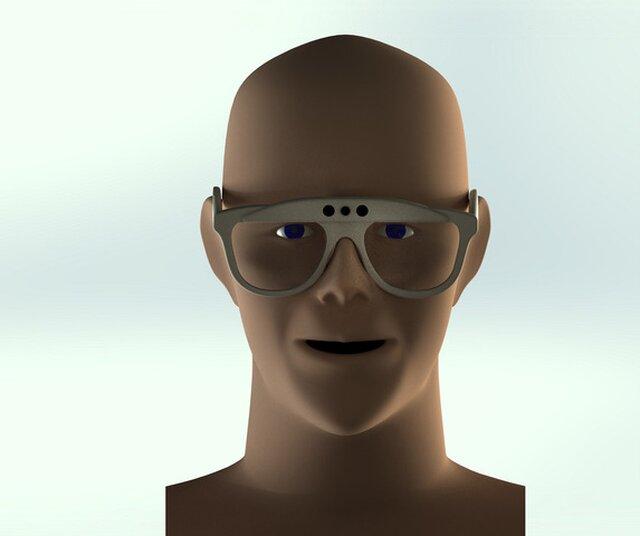 Intelligent sun glasses for blind