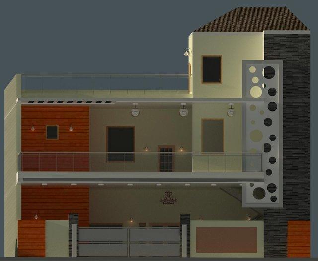 1+G House Exterior Design