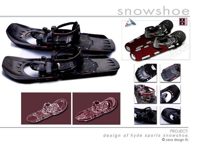 Hyde Athletic Snow Shoe