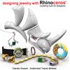Easy jewelry modelling with Rhinoceros