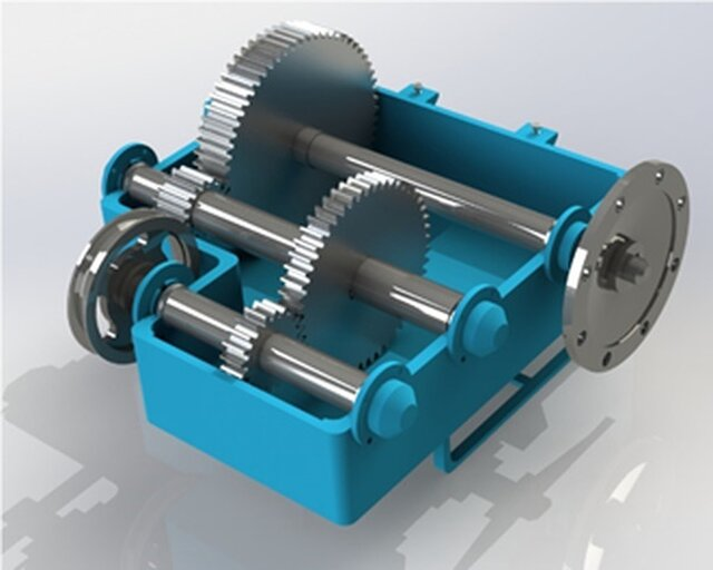 2-stage gearbox
