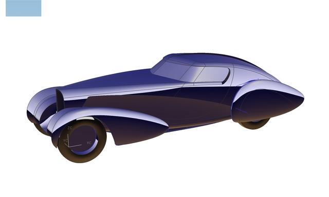 Art Center Stewart Reed Bugatti project