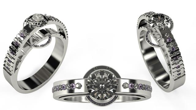 Anniversary ring 2°
