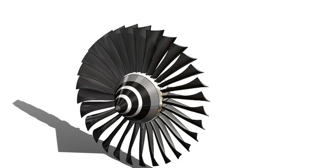 Jet Engine Assembly