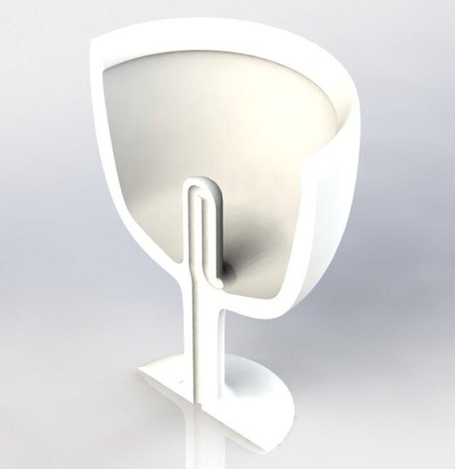 Self Draining Pythagorean Cup