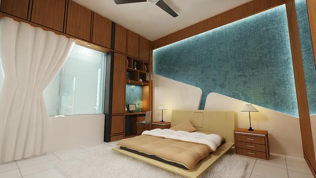 1600 sft Residential apartment Inetrior
