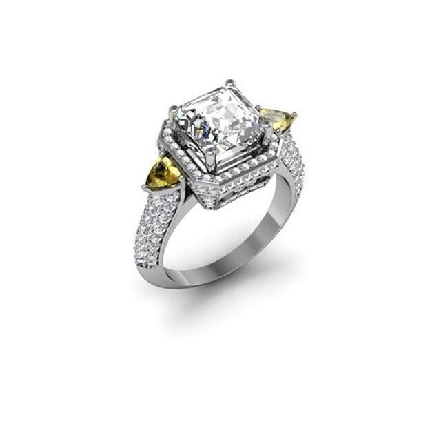 Contemporary Designer Wedding Ring