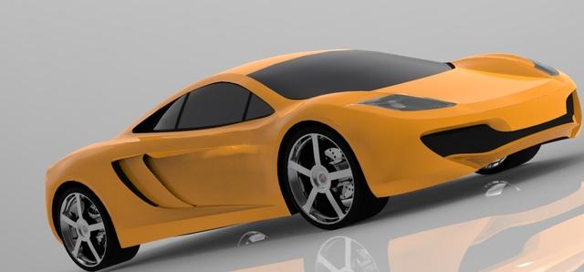 Mclaren 12c Design