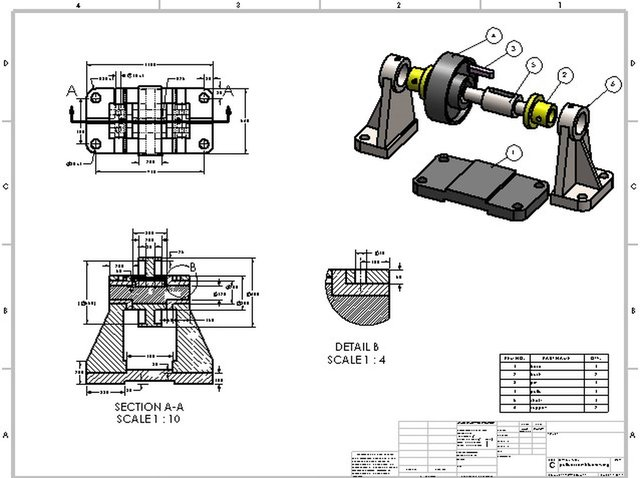 pully-assembly-drawing