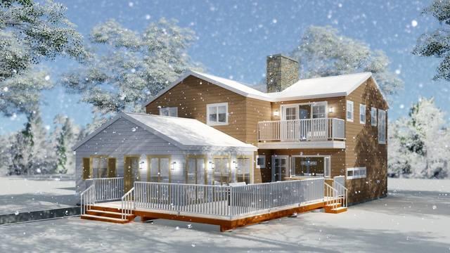 Cabin Design in West Virginia US