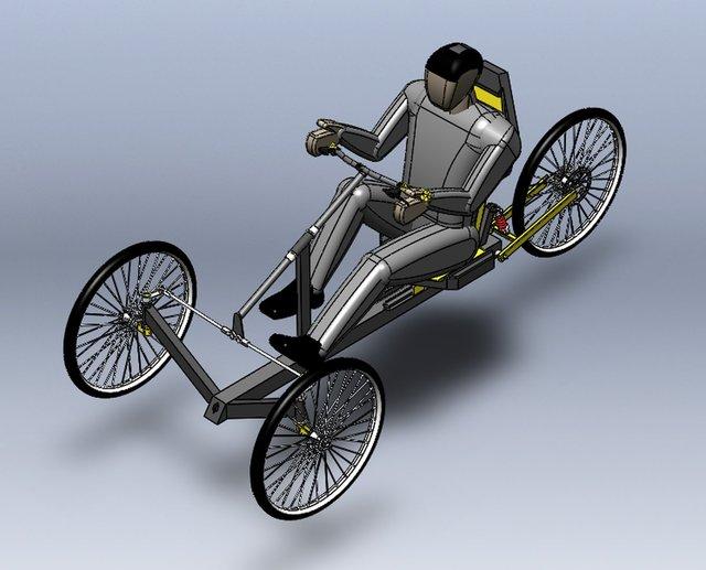 Fitness Recumbent Tricycle