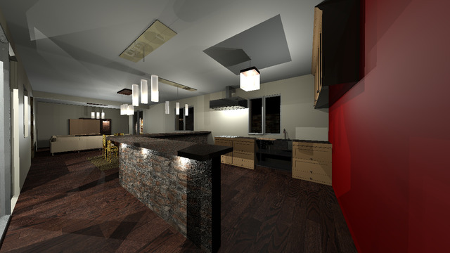 3D- modelling house