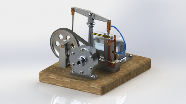 Small size Steam Engine (Educational Purposes)