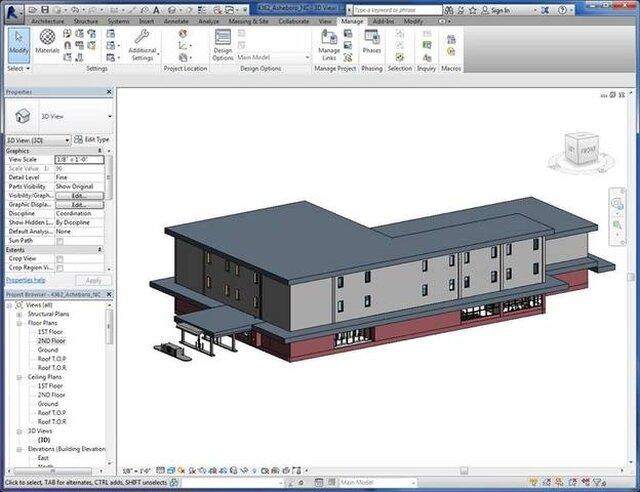 Revit Modeling Projects