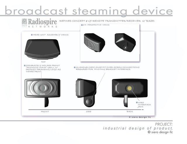 Radiospire Broadcast Streaming Device