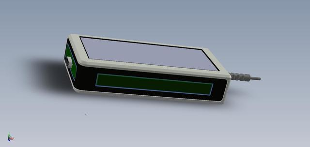 3D model of enclosure for manufacturing