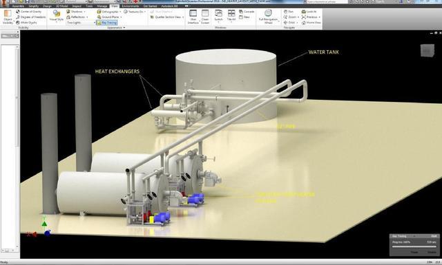 Horizontal Water Heater System