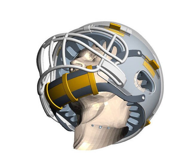 UAB / NFL Helmet design
