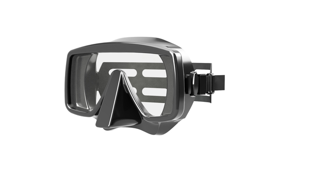 Design and rendering of a Scuba Mask