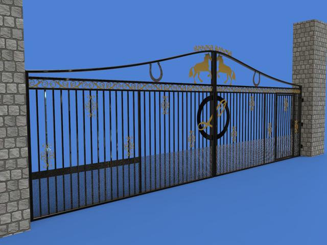 Architectural gate